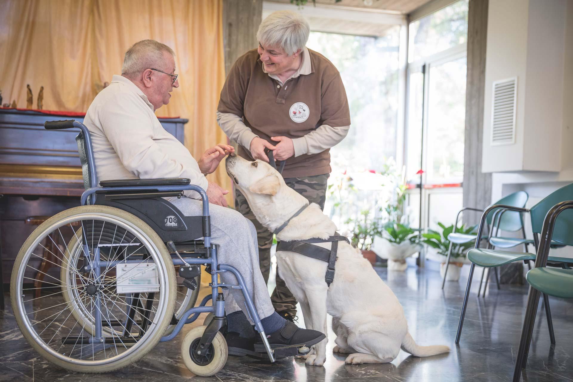 Casa di Riposo Orsi Mangelli Forlì Pet Therapy