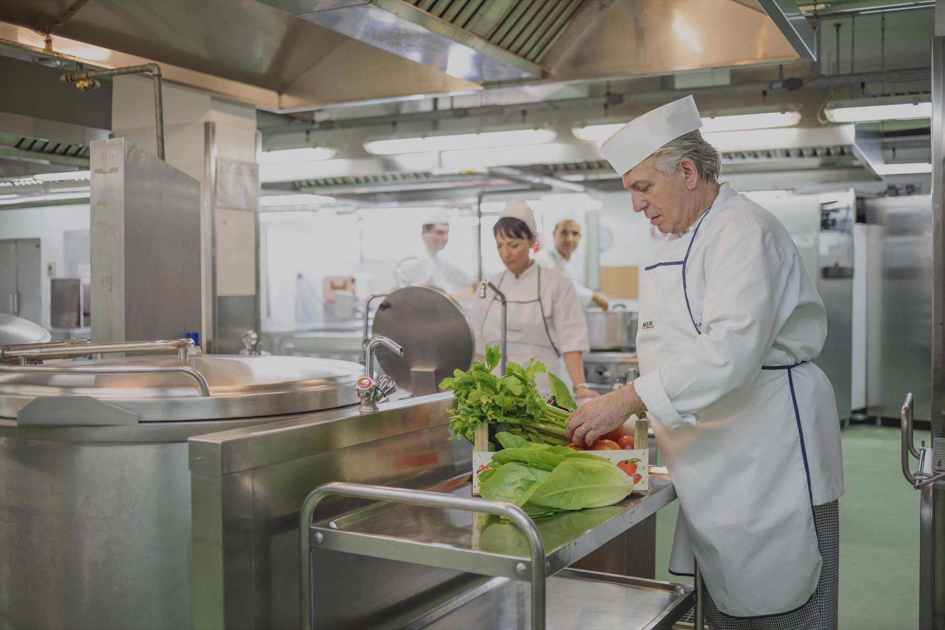 Casa di Riposo Orsi Mangelli Forlì la cucina
