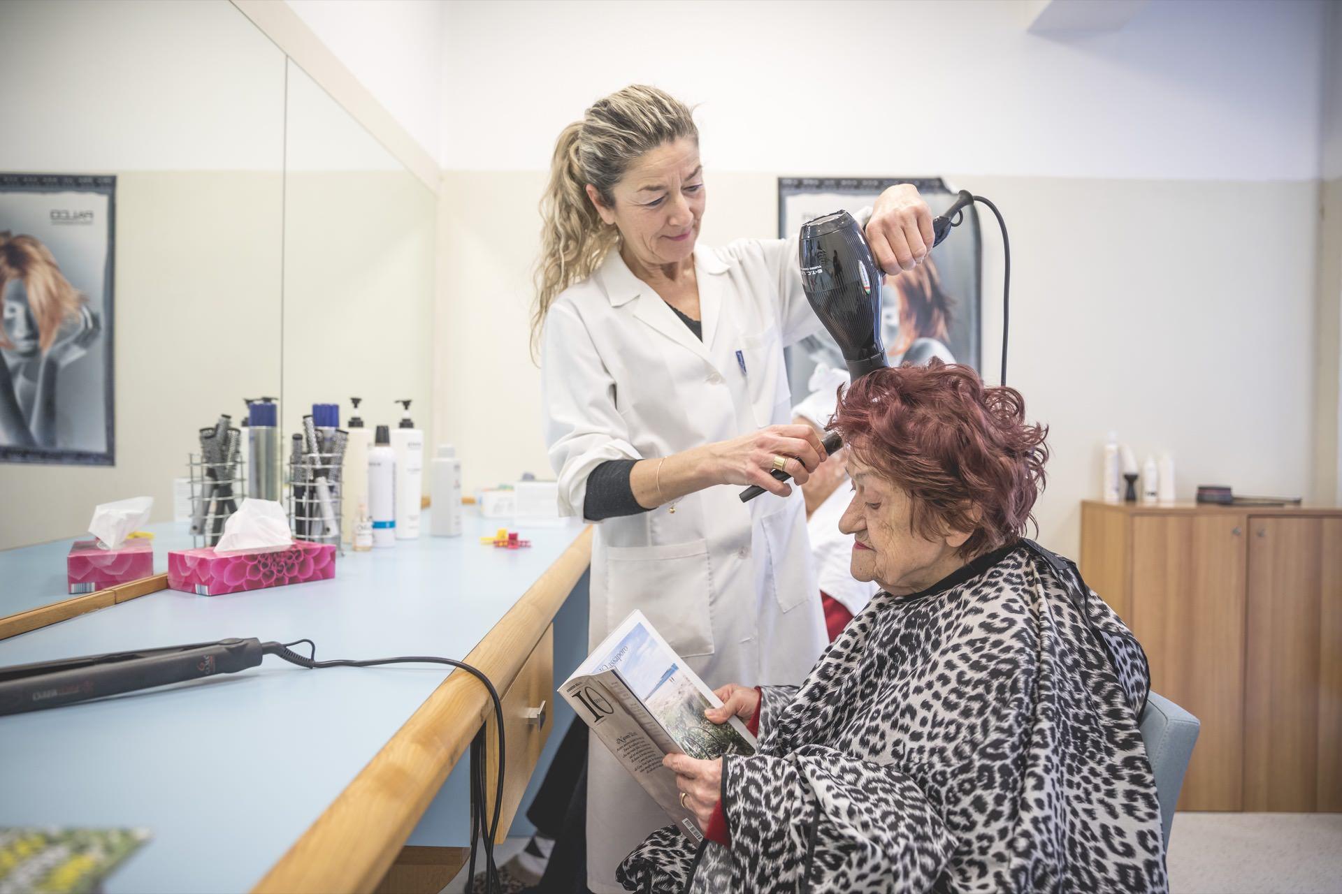 Casa di Riposo Orsi Mangelli Forlì parrucchiere