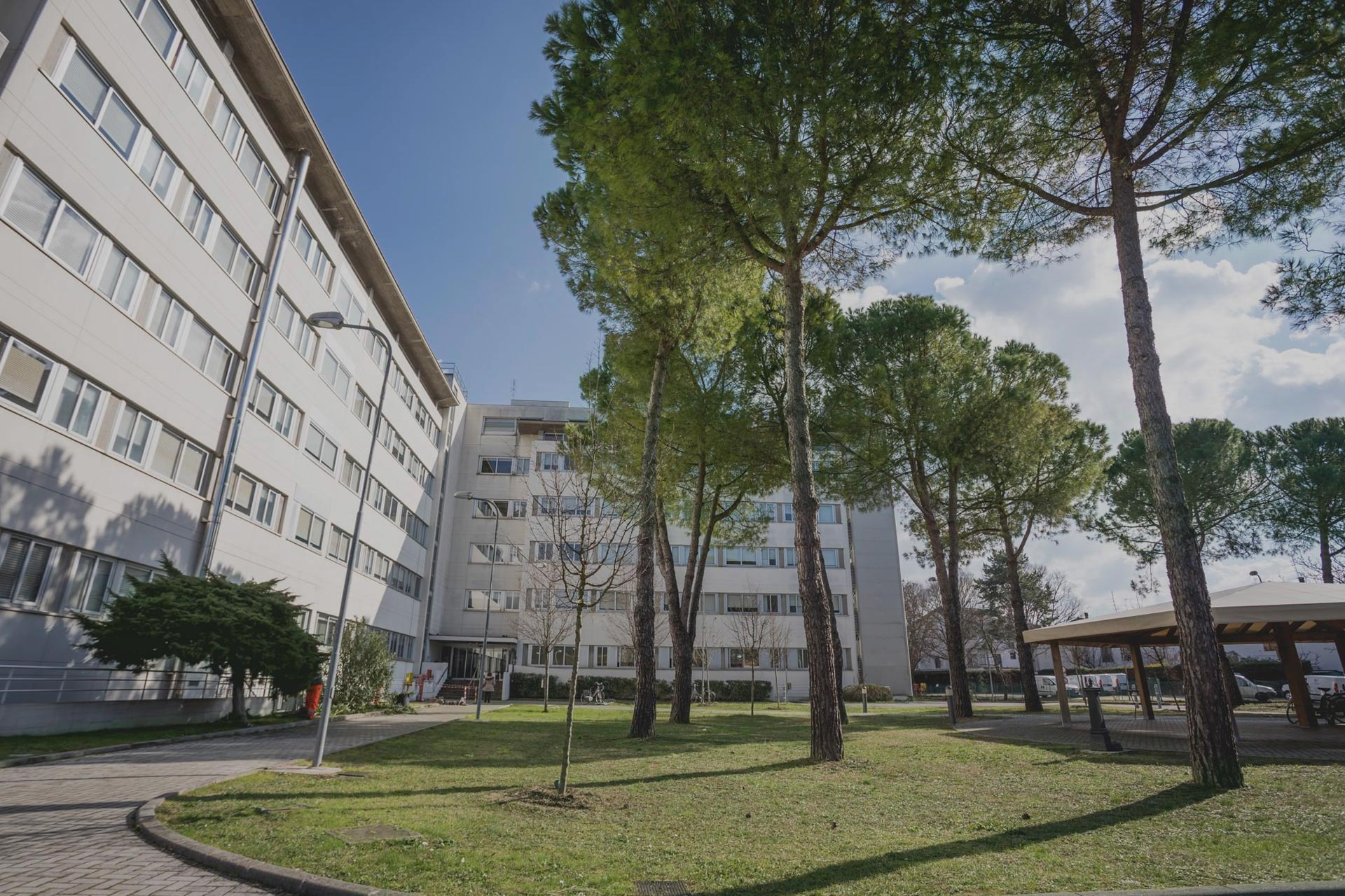 Casa di Riposo Orsi Mangelli Forlì giardino