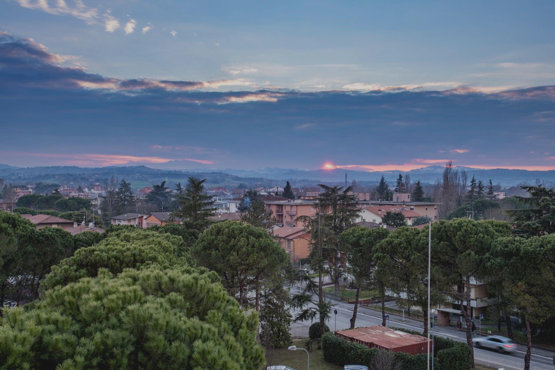 Casa di Riposo Orsi Mangelli Forlì vista tramonto